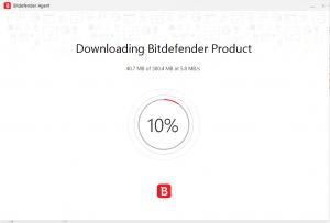 Bitdefender Review - Downloading Bitdefender Product