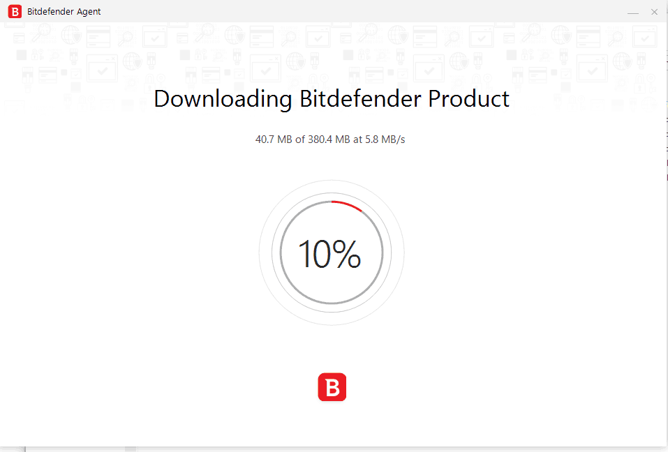 Bitdefender Review - Downloading Bitdefender Product Illustration