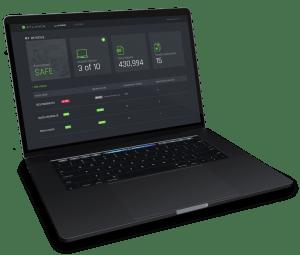 Cylance antivirus online dashboard