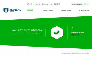 Heimdal Thor the free antivirus
