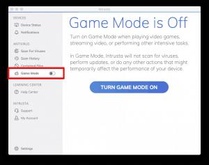 game mode intrusta
