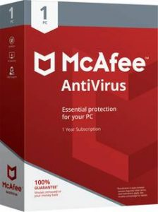 mcafee antivirus esential protection