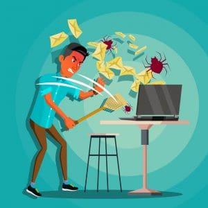 Illustration of How Do Computer Viruses Spread?