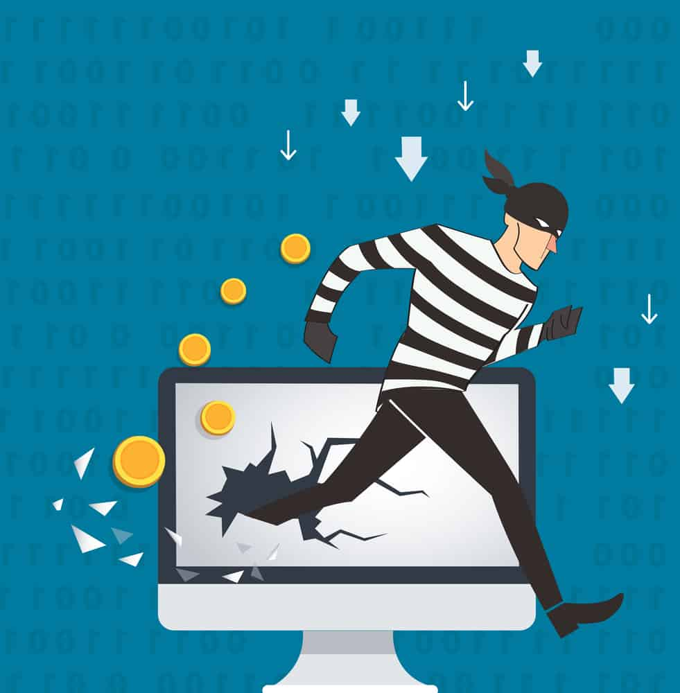 website viruses or malware