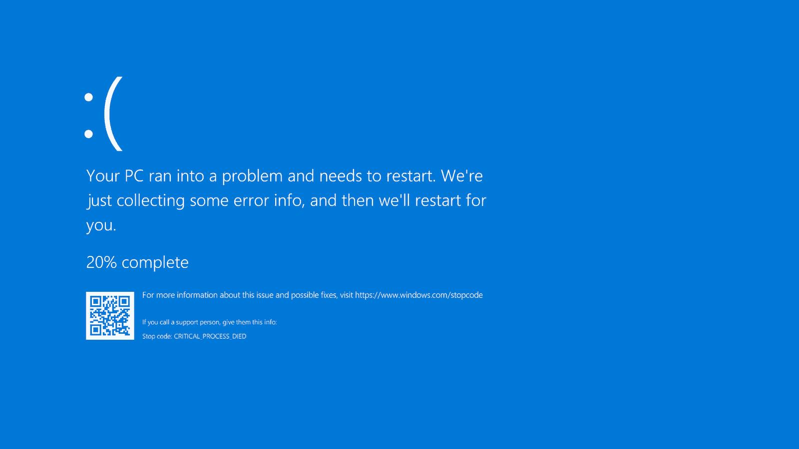 Can antivirus cause blue screen?