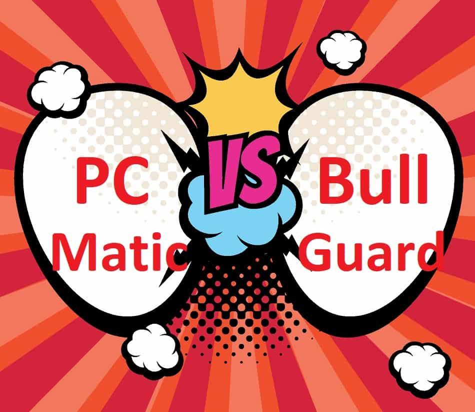 PC Matic VS BullGuard Home Antivirus Comparison